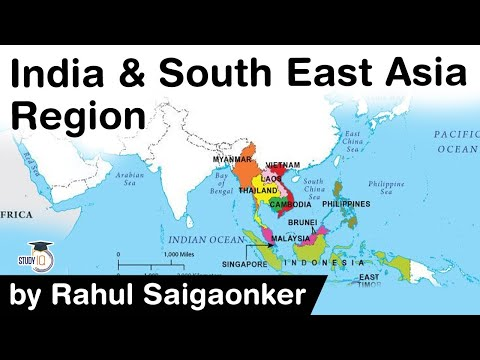 India and South East Asia Region relations - Should India increase its influence in ASEAN region?