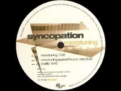 Syncopation - Microtuning