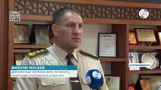 Азербайджанские спортсмены-ветераны выражают поддержку бойцам азербайджанской армии