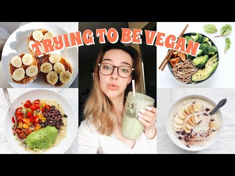 I TRIED TO BE VEGAN FOR A WEEK