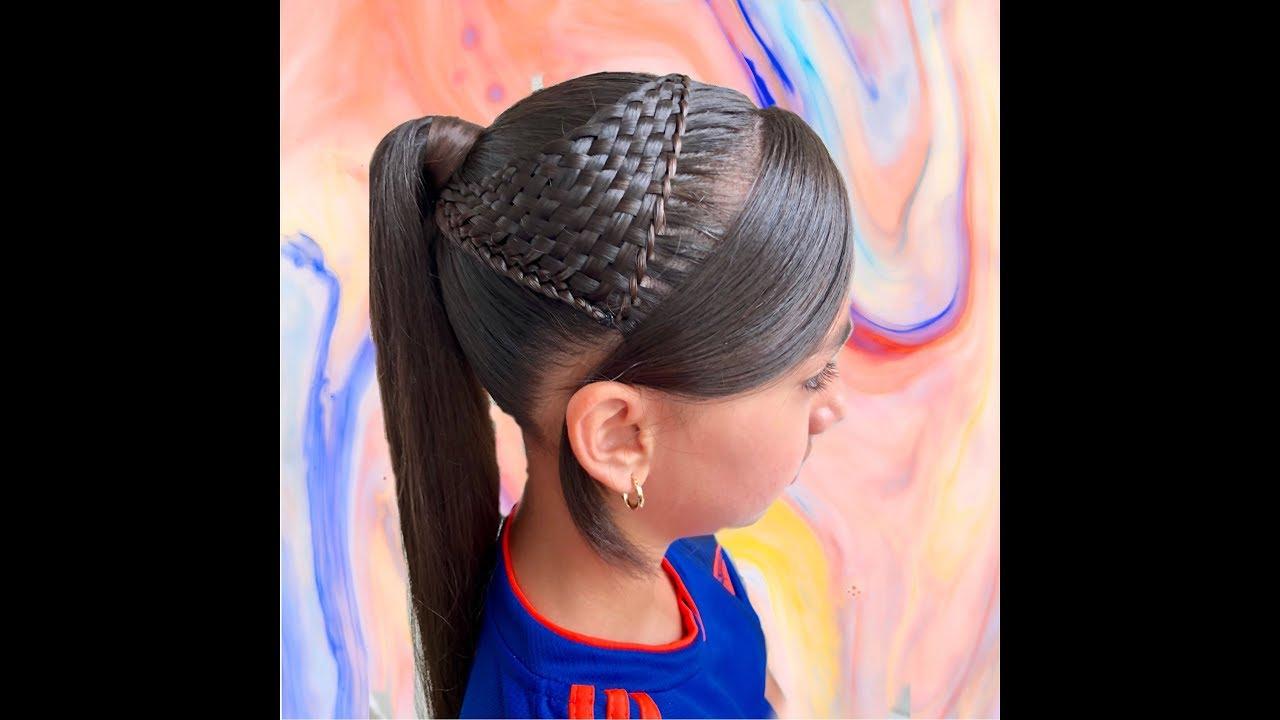 Peinados con trenza y chinos