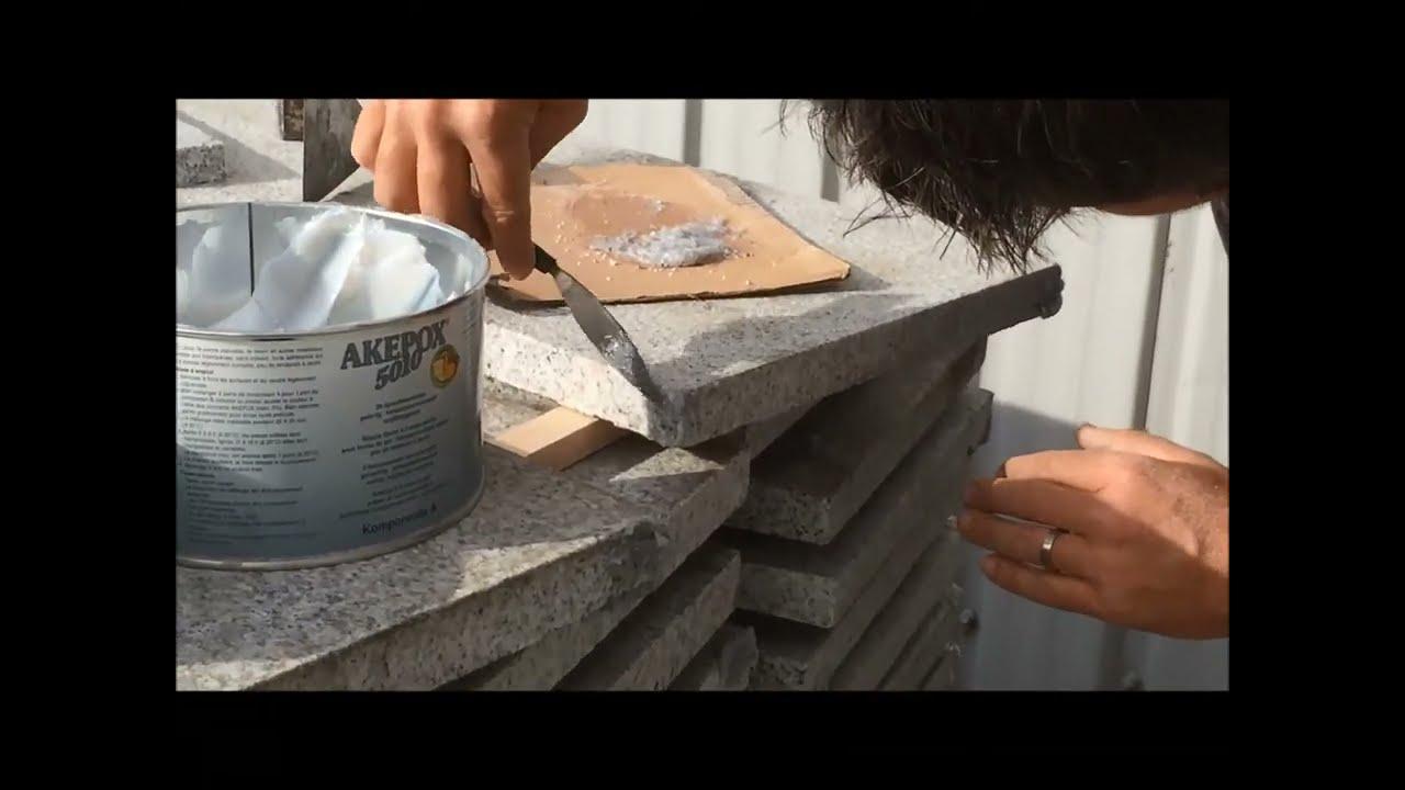 Plan De Travail Neoquartz reparation du granit - youtube