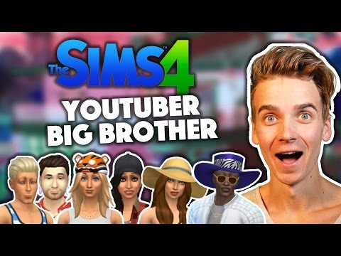 IT'S BACK!  YouTuber Big Brother  Sims 4