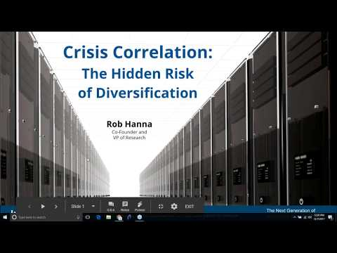 InvestiQuant  - Crisis Correlation:  The Hidden Risk of Diversification