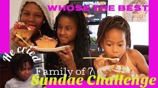 Who Made The Best Sundae? He Cried Black Family Vlog