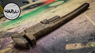 HABU \\ WW2 Monkey Wrench Restoration (US Army)
