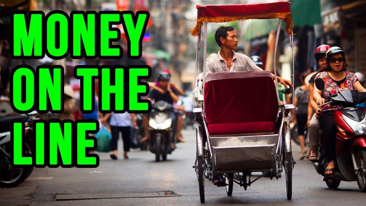 Vietnam Rickshaw Race!