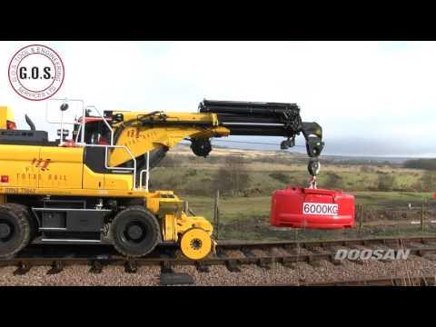 The GOS Road Rail machine