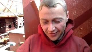Польша, Гданьск (конец рабочего дня сварных)(, 2014-08-04T14:08:46.000Z)