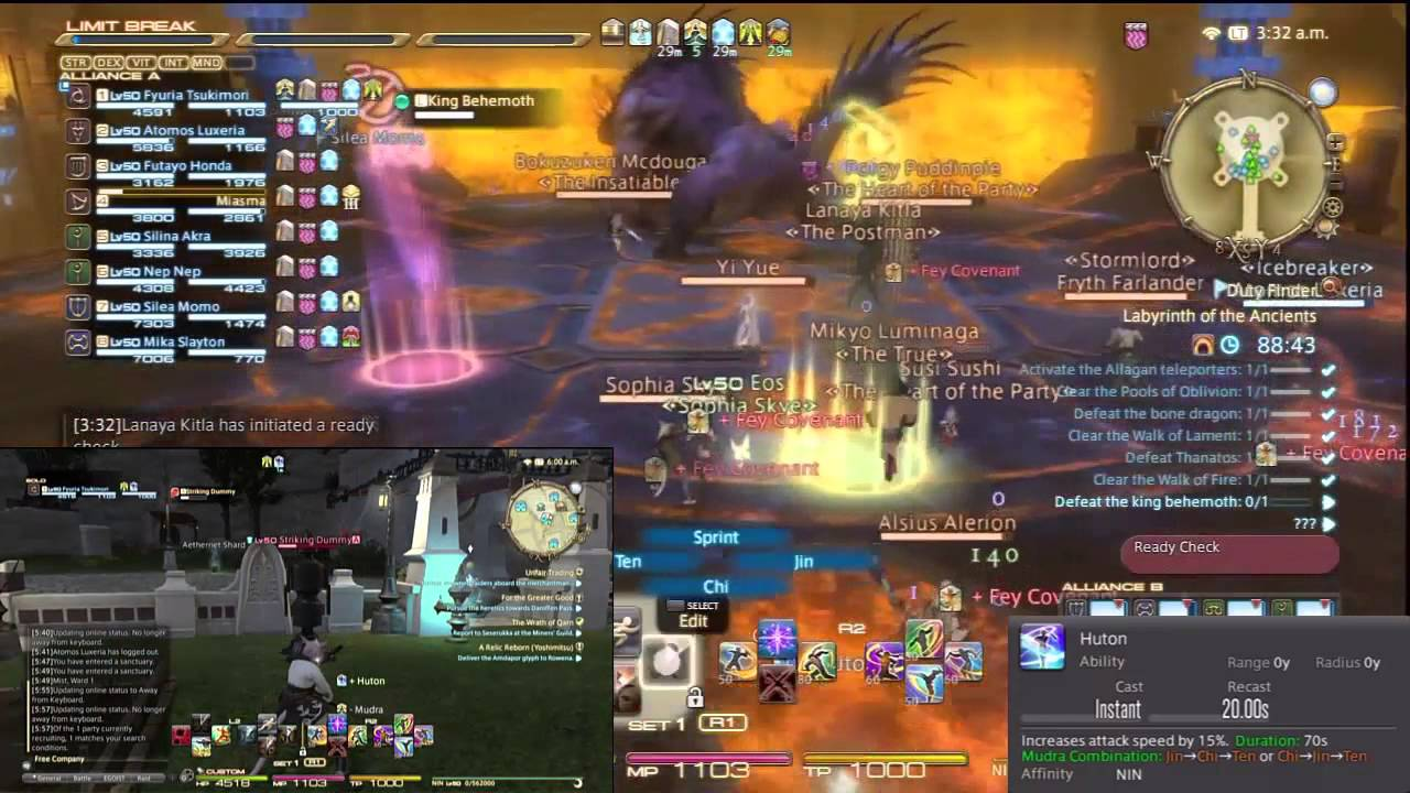 FFXIV ARR Ninja Guide Patch 24 YouTube