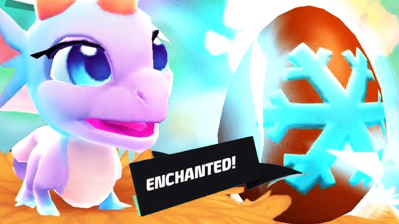 DragonVale World - How to breed Encanted Dragons! - wetube24 com