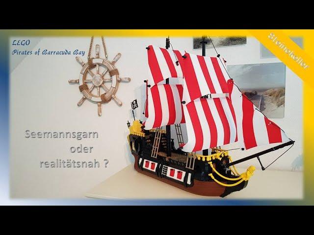 Lego Piraten im Steinekeller # 8  -  Seemannsgarn oder realitätsnah ?  Lego Pirates of Barracuda Bay