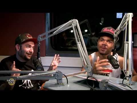 Chance The Rapper on Real Late w/ Rosenberg