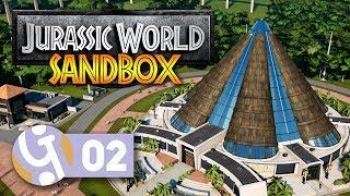 🦖 Innovation Centre   Isla Nublar Sandbox Mode   Let