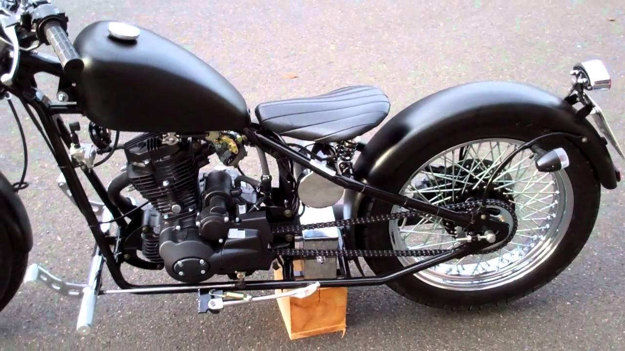 Tha Heist Bobber 125ccm GET CCW Cyclewerks LH125 ClevelandCycleWerks