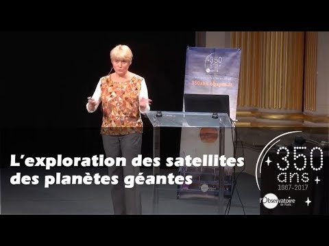 L'exploration des satellites des planètes géantes - Cosmos en Scène