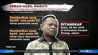 Danai Rencana Penembakan Wiranto & Luhut, Siapa Habil Marati?