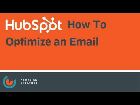 How to Optimize an Email I HubSpot How To