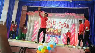 Best college group dance,don bosco college,kottiyam BBA 2017-18