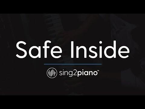 Safe Inside [Piano Karaoke Instrumental] James Arthur