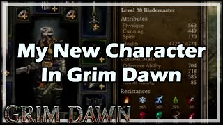 Grim Dawn: Hardcore Level 100 Retaliation Warlord Build