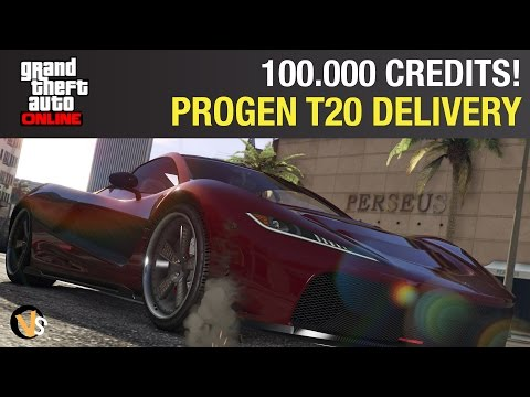Progen T20 Perfect Delivery (100.000 credits!) - GTA Online Import/Export DLC
