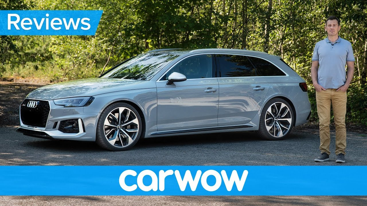 Audi RS4 2019 review - see how fast it can really hit 60mph!