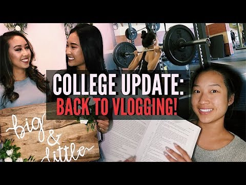 COLLEGE WEEKEND IN MY LIFE  | Update + What I've Been Up To!