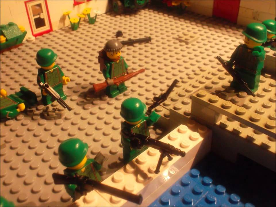 Lego Wwii Battle Of Usa Youtube