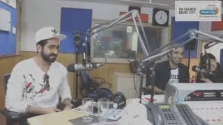 Ayushmann KhurranaandAparshakti Khurana at Radio City 91.1 FM