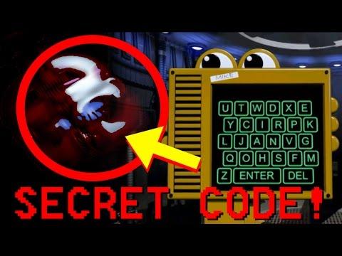 FNaF: Sister Location Mobile Secret Codes: RED BALLORA!