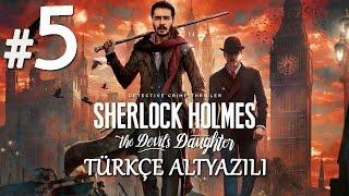 LANET Mİ ? CİNAYET Mİ ?   Sherlock Holmes The Devil's Daughter Türkçe Altyazılı Bölüm 5