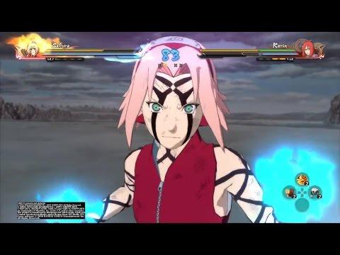 ✊ Sakura vs Karin (NARUTO SHIPPUDEN: Ultimate Ninja Storm 4) 💥