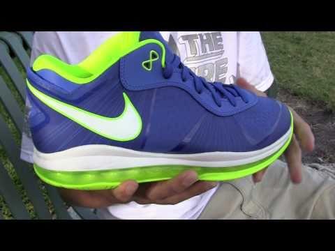 Nike LeBron VIII 8 V2 Low Sprite