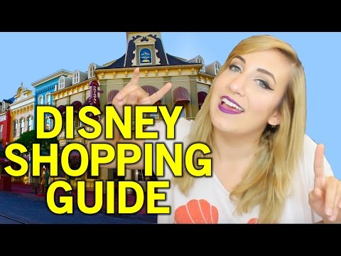 Disneyland Shopping Guide!