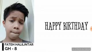 LagU happy birthday gen halilintar(1)
