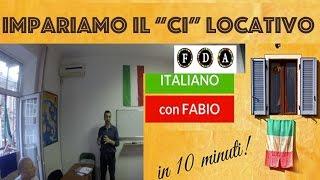 LEZIONE DI ITALIANO FABIO BOERO! IL CI LOCATIVO CENTRO FDA  Урок итальянского языка!