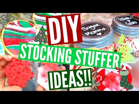 DIY STOCKING STUFFERS | Easy & Affordable Stocking Stuffer Ideas!!