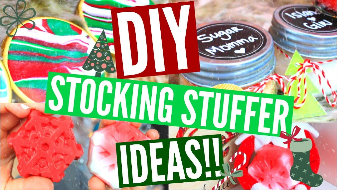 diy stocking stuffers easy affordable stocking stuffer ideas youtube