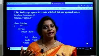 II PUC | Computer Science | C++ and Data structures program - Practicals- 09