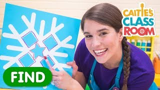 Learn Shapes With Snowflakes
