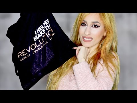 Makeup Revolution NEW Products 2016 //  2nd Birthday Party  & GOODY BAG