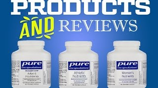 Pure Encapsulations Athletic Nutrients, Women