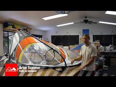 2012 MauiSails GLOBAL wave sail presentation
