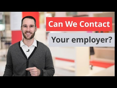 Can We Contact Your Employer? Best Ways to Answer this Diffi