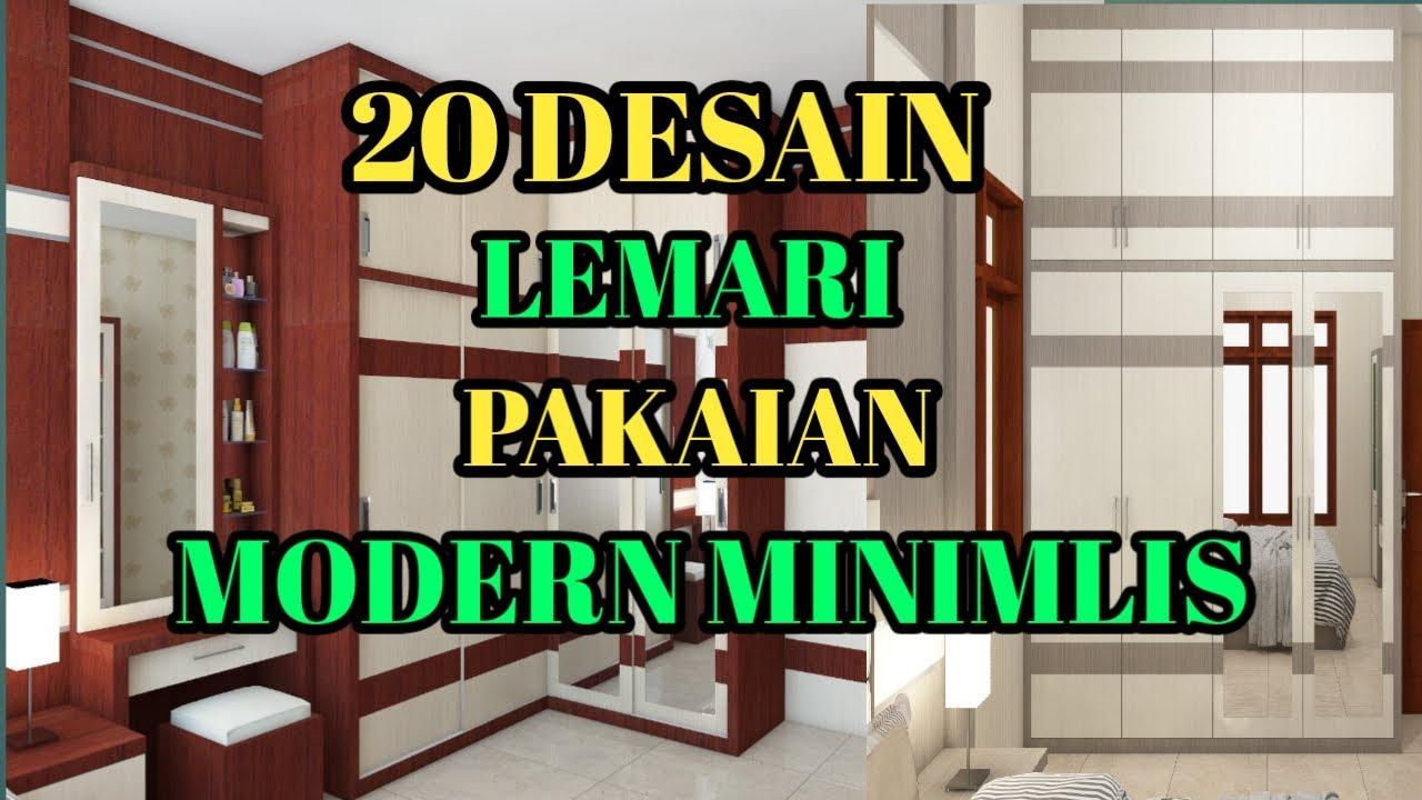 20 Desain Lemari Pakaian | Minimalis | Modern | Terbaru ...