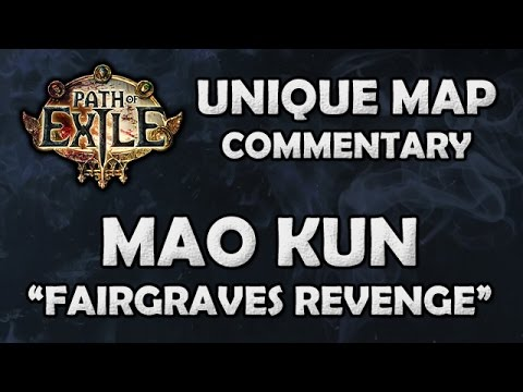 Path of Exile: MAO KUN Unique Reef Map - Beyond League (Hardcore)