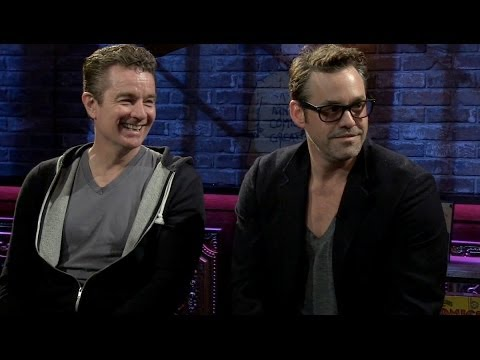 "CBR TV 2014: James Marsters & Nicholas Brendon Discuss ""Buffy: Season 10,"" Writing Comics"