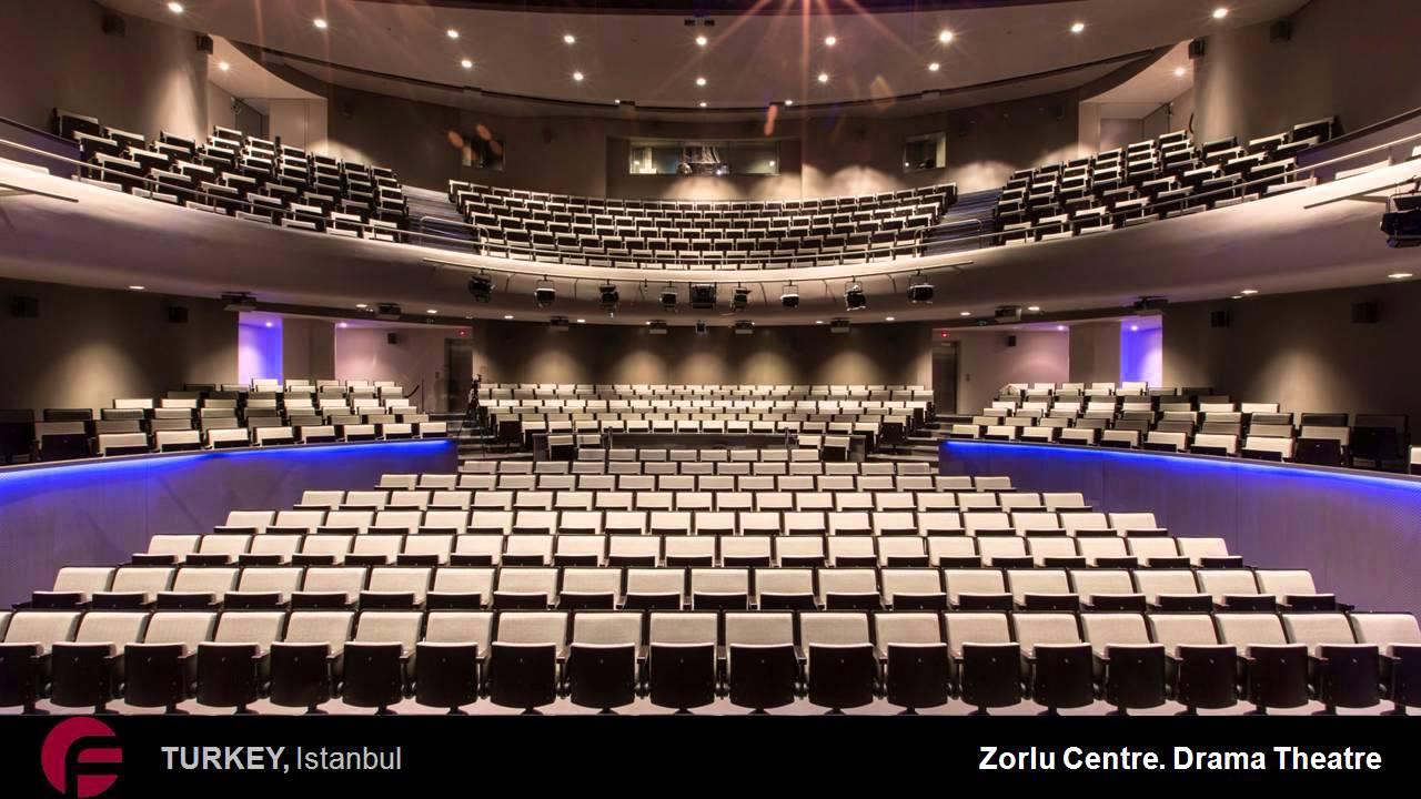 Teatros Butacas y Asientos de Diseo Figueras para Teatro