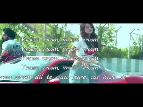 VROOM VROOM | BADSHAH LATEST SONG 2015 FT. SIMRANJEET | LYRICS